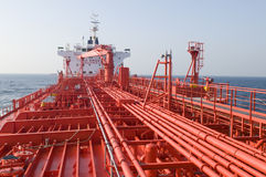Free Pipes On The Deck Of The Tanker Stock Image - 11044821