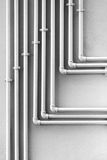 Pipes in Pattern Stock Photo