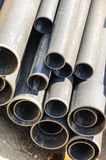 Pipes pile Royalty Free Stock Photo