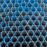 Pipes. The pipe piled up infinitely Stock Images