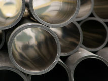 Pipes plastic for water royalty free stock images