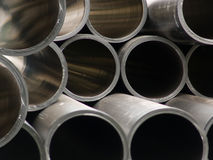 Pipes plastic for water stock photography
