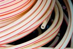 pipes plastic white Arkivbilder