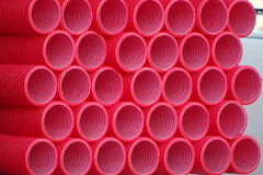 pipes pvc Royaltyfri Bild
