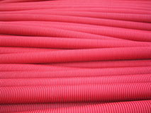 pipes pvc-red Royaltyfria Foton