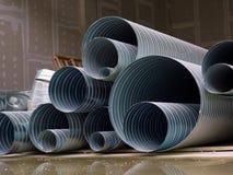 pipes stål Arkivbild