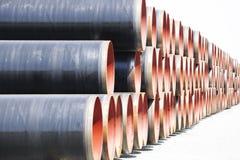 pipes stål Royaltyfri Bild