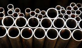 pipes stål Royaltyfri Foto