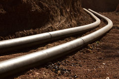 Pipes  synthetic  pipeline Royalty Free Stock Photo
