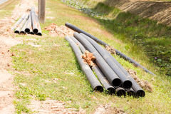 Pipes synthetic pipeline Stock Photography