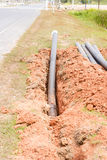 Pipes synthetic pipeline Stock Photo