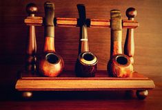 Pipes, Tobacco, Old Man, Rare Royalty Free Stock Images