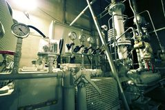 Pipes, tubes, gauges Royalty Free Stock Photography