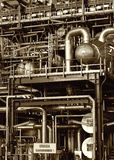 Pipes, tubes and machinery royalty free stock photography