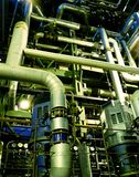 Pipes, tubes, pumps Stock Photography