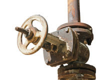 Pipes and Valves Stock Photography