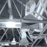 pipes ventilation Royaltyfria Bilder