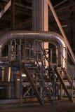 pipes ventiler Arkivbild