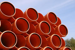 Pipes warehouse abstract Royalty Free Stock Images