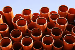 Pipes warehouse abstract Stock Photo