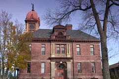 Pipestone Courthouse Front Stock Image