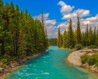 Pipestone flod Arkivbild