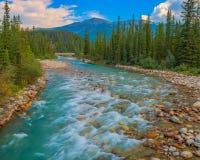 Pipestone-Fluss Lizenzfreie Stockbilder