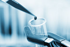 Pipette and test tube Stock Image