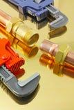 Pipework трубопровода Стоковые Изображения RF