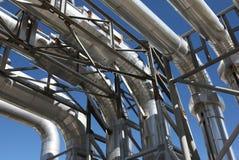 pipework przemysłowe Obraz Royalty Free