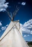 Pipi del T del nativo americano Immagini Stock Libere da Diritti