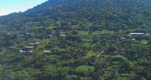 Pipincatla, Guerrero, Mexico Een landelijke bergstad stock video