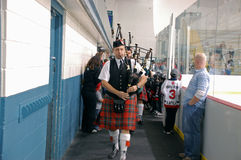 Piping in the Dignitaries Royalty Free Stock Images