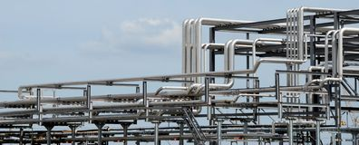 Piping Systems Stock Photography