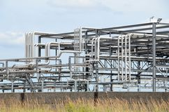 Piping systems Stock Image