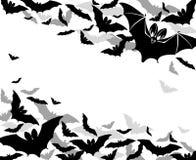 Pipistrelli del fondo Immagini Stock