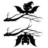 Pipistrelli di Halloween Fotografia Stock Libera da Diritti