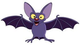 Pipistrello con le ali spante Immagine Stock Libera da Diritti