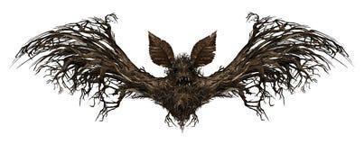 Pipistrello del fantasma illustrazione vettoriale