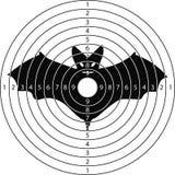 Pipistrello dell'obiettivo della fucilazione Immagine Stock Libera da Diritti