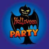 Pipistrello della zucca di Halloween fotografie stock