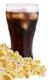 Pipoca e soda foto de stock royalty free