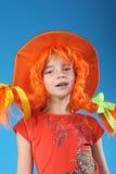 Pippi Longstocking Royalty Free Stock Image