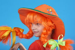Pippi Longstocking royaltyfri foto