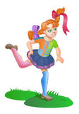 Pippi Longstocking Stock Photography