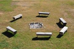 Piqûre d'incendie photo stock