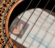 Piqûres de guitare Photos libres de droits