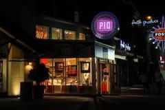 PiQ普遍市步行,奥兰多,佛罗里达 免版税图库摄影