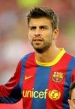 Piqué de Gerard de Barcelona imagen de archivo