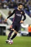 Piqué de Gerard de FC Barcelona Fotografía de archivo libre de regalías